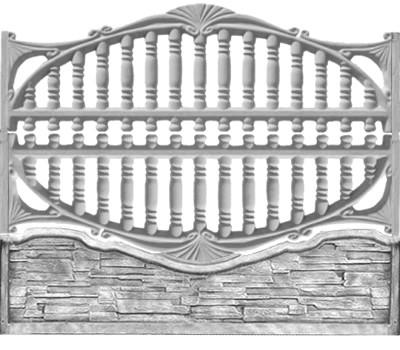 Еврозабор «Балясина арка»
