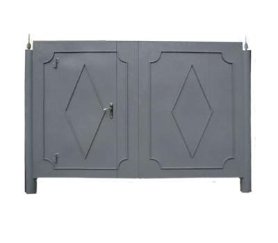 Ворота металлические сварные