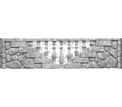 Плита «Камин балясина»