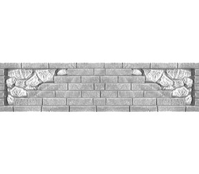 Плита «Камин кирпич»