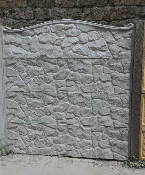 разрисовать бетонный забор под камень фото девушки такой стиль